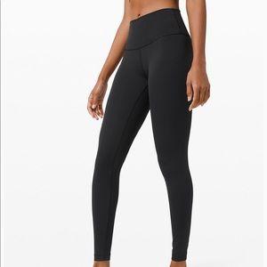 Lululemon wonder under high rise leggings
